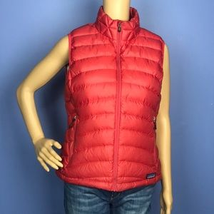 Patagonia Red Puffer Vest Goodsedown Fill size Med